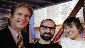 Anthony Modine, Dan Leeb and Nora Liddel