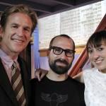 Matthew Modine, Daniel Leeb, Nora Liddell