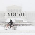 comfortable still